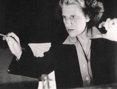 Antonia Brico. Conductor and Pianist. First woman to conduct the New York Philaharmonic.