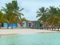 Colorful town on the horizon! #SaonaIsland  #DominicanRepublic #CaribbeanLife