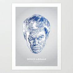 Dexter Art Print by Tomasz Zawistowski - $20.80