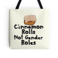 Cinnamon Rolls not gender roles by Boogiemonst