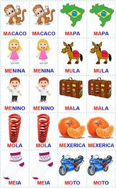 ATIVIDADES PARA EDUCADORES: Jogo da memória - palavras com MA - ME - MI - MO -...
