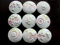 White with Rainbow cupcakes | Flickr - Photo Sharing!