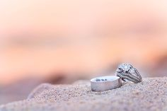 Point+Betsie+Wedding+Rings+in+the+Sand+at+Sunset+ +Rayan+Anastor+Photography+ +Traverse+City+Wedding+Photographer