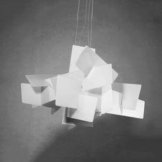 Fractal pendant light #minimalist