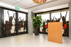 Teachers room at elementary school designed by studiolime.nl