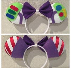 Hey, I found this really awesome Etsy listing at https://www.etsy.com/listing/224624339/buzz-lightyear-minnie-ears