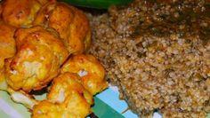 Baked Cauliflower Bhujias
