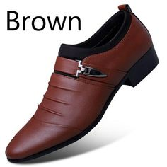Artificial Leather Business Men's Casual Shoes BIMUDUIYU Luxury Brand Artificial Leather Mens Formal Shoes Dress Shoes Fashion Business Affairs Design Oxford Wedding Shoes From Touchy Style Outfit Accessories ( Stomatal Black / ) Leather Dress Shoes, Black Leather Shoes, Leather Men, Black Shoes, Leather Loafers, Loafers Men, Bonded Leather, Oxfords, Loafer Shoes