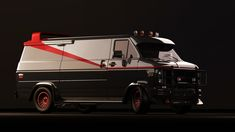 a-team van, always wanted one of these as a kid, don't judge me lol