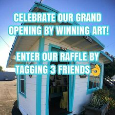 Celebrate the Grand Opening of @429artcollective! Tag 3 friends and you are automatically entered to win art by one of our members! Only 2 rules apply: you must be a NorCal local and pick up your gift at our Grand Opening next Saturday July 1st between 12p-6p!  429 May Avenue Santa Cruz, CA  #art #artist #crafts #handmade #painting #bodypainter #model #photos #pottery #seaglass #pipes #jewelry #studio #gallery #artcollective #raffle #grandopening #livemusic #food #santacruzca #montereyca…