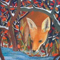 Red Fox  by  Melissa Launay