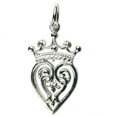 Luckenbooth-Lucky-Sterling-Silver-Charm-925-x-1-charms-PJPC369