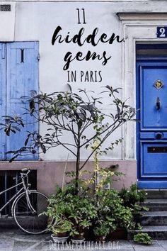 Looking for unique places to visit in Paris? Look no further than this comprehensive guide! #paristravel #paris #francetravel