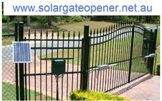 Our automatic gate openers are used for farms, residential and industrial use.   Any questions you may visit http://www.solargateopener.net.au