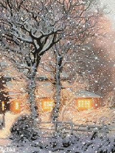 Let it snow, let it snow, let it snow… Gif. Let it snow, let it snow, let it snow… Gif. Merry Christmas Gif, Christmas Scenery, Winter Scenery, Vintage Christmas Cards, Christmas Art, Winter Christmas, Animated Christmas Pictures, Christmas Images, Winter Images