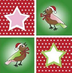 Kerstkaart klassiek: Vrolijke kerstkaart met kerstvogel. Klassieke kerstkaarten online maken en versturen. Kies een mooie klassieke kerstkaart, schrijf de tekst, en met een druk op de knop, worden alle kerstkaarten voor u gedrukt en via PostNL verstuurd! http://www.kerstkaartensturen.nl/kerstkaarten/kerst-klassiek/