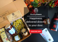 MonthlyFlavors Is Like Christmas Every Month! It's our favorite time of the year! We've been discovering, testing, and hand-selecting the very best surprises for you and your loved ones. It's happiness, delivered directly to your door. Time Of The Year, Mediterranean Recipes, Greek Recipes, Happy Holidays, The Selection, Happiness, Christmas, Gifts, Food