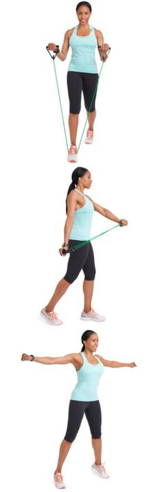 You don't need a gym to get rid of arm flab, just grab a resistance band and try this easy workout
