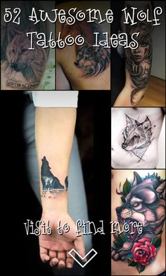 During the whole history of mankind, the Wolf was always an animal, people feared and respected. They are strong and clever predators, devoted parents. Wolf Tattoo Design, Tattoo Designs, Wolf Tattoos, Future Tattoos, Tattoo Artists, Tattoo Ideas, Ink, Awesome, Tattoo