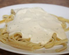 Making alfredo sauce from scratch takes forever, and jarred sauce is just too plain for my taste. This semi-homemade sauce starts with a ja...