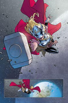 Thor by Russell Dauterman and Matt Wilson