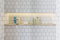 MORE Design Build - illuminated toiletry shelf