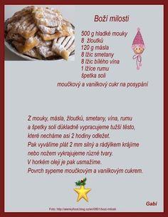 Christmas Baking, Christmas Cookies, Czech Recipes, Ethnic Recipes, Czech Desserts, Ciabatta, Easter Recipes, Baking Recipes, Ale