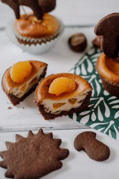 mandarine zimt cupcakes mit cream cheese frosting und. Black Bedroom Furniture Sets. Home Design Ideas