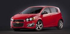 The 2013 Chevrolet Sonic RS.    See More Here: http://www.thecarconnection.com/news/1078664_2013-chevrolet-sonic-rs-priced-from-20995?utm_medium=twitter_source=TheCarConnection