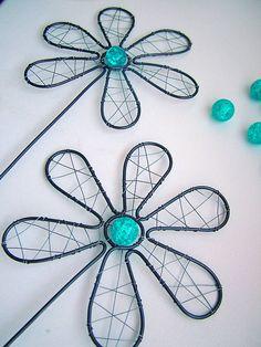 Dekorácie - kvet do kvetináčika - 5045609_