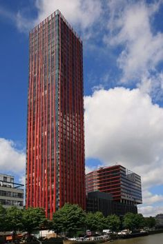 The Red Apple mixed use development in Rotterdam by KCAP Architects