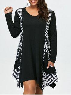 GET $50 NOW | Join RoseGal: Get YOUR $50 NOW!http://m.rosegal.com/plus-size-dresses/plus-size-pockets-design-asymmetrical-963283.html?seid=7839514rg963283