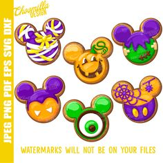 Mickey Mouse Halloween Cookies are adorable Hallow Disney Halloween, Disney's Halloween Treat, Halloween Candy Apples, Mickey Mouse Halloween, Easy Halloween Costumes, Halloween Cookies, Mickey Minnie Mouse, Halloween 2020, Disney Diy