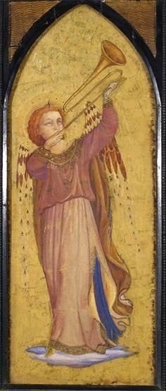 Fra Angelico, The Archangel Gabriel; St Catherine of Alexandria