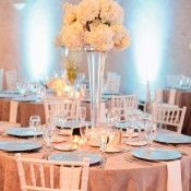 Orlanda White and Blue Wedding from Shipra Panosian