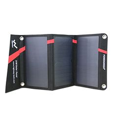 Solar Charger, PowerGreen 21W 2-Port USB Sunpower Solar Panel Charger for Galaxy…