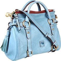 pretty sure this is a necessity! / Dooney + Burke. Sky blue shopper