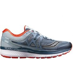 Saucony Hurricane ISO 3 Mens Running Shoes - Grey. Isaak Michailidis · lifestyle  sport clothes e72083020