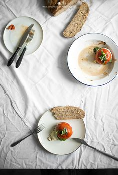 roasted tomatoes with mozzarella and basil - what should i eat for breakfast today>