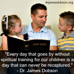 Don't miss an opportunity to impact your children for Christ!