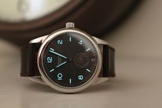 nomos. i was trying to find out where i could buy this watch until i found out it's ridiculously expensive.