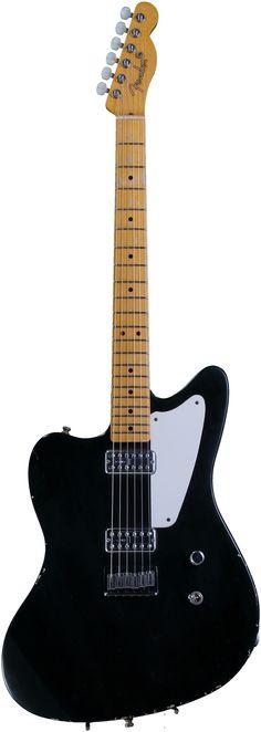"Fender Custom Shop LTD Relic La Cabronita ""Boracha"" Jazzmaster - Black, Heavy Relic"