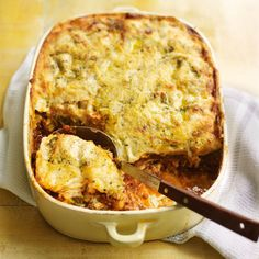 lasagne con pesto: first time i've heard of this - bechamel and basil pesto combi sounds delicious!