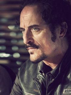 Tig (played by Kim Coates) from Sons of Anarchy Although he's got some very weird characteristics (which character on that show doesn't?) He is still one of my favorites.