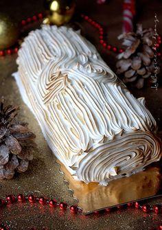 wbc x rbc lemon * rbc x wbc - rbc x wbc anime - rbc x wbc comic - wbc x rbc lemon - hataraku saibou wbc x rbc - wbc x rbc cells at work - wbc rbc - rbc and wbc Cinnamon Cream Cheese Frosting, Cinnamon Cream Cheeses, Christmas Log, Christmas Cookies, Xmas, Lemon Desserts, Fall Desserts, Cake Chocolat, Black Sesame Ice Cream