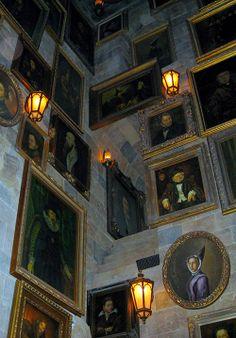 Hogwards Castle Inside in Universal's Islands of Adventure, Orlando