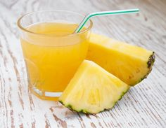 """Pineapple Juice Is [supposedly] 5x More Effective Than Cough Syrup - 1c fresh pineapple juice, ¼c fresh lemon juice, 1 pc of ginger (about 3""""), 1T raw honey, ½t cayenne pepper"""