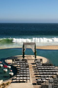 maybe for our next wedding :) Capella Pedregal, Yours Truly destination wedding in Cabo San Lucas.