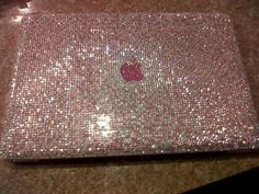 #Apple #book #pc #strass #girly