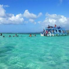 Buccoo Reef in Bon Accord, Tobago The pool in middle of the ocean with beautiful sea fish and shells! Places To Travel, Places To Visit, Glass Bottom Boat, Places In England, West Indian, Sea Fish, Travel Memories, Dream Vacations, Trinidad And Tobago